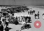 Image of motorcycle race Daytona Beach Florida USA, 1954, second 4 stock footage video 65675050610