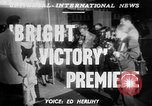 Image of Bright Victory movie premiere Hollywood Los Angeles California USA, 1951, second 1 stock footage video 65675050615