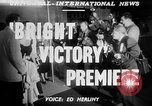 Image of Bright Victory movie premiere Hollywood Los Angeles California USA, 1951, second 4 stock footage video 65675050615