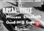 Image of Princess Elizabeth and Duke Phillip Toronto Ontario Canada, 1951, second 1 stock footage video 65675050619