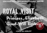 Image of Princess Elizabeth and Duke Phillip Toronto Ontario Canada, 1951, second 5 stock footage video 65675050619