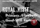 Image of Princess Elizabeth and Duke Phillip Toronto Ontario Canada, 1951, second 6 stock footage video 65675050619