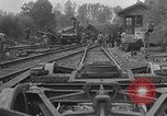 Image of train collision Austria, 1951, second 6 stock footage video 65675050620