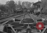 Image of train collision Austria, 1951, second 7 stock footage video 65675050620
