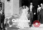 Image of Ralph Kiner and Nancy Chaffee Santa Barbara California USA, 1951, second 1 stock footage video 65675050621