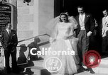 Image of Ralph Kiner and Nancy Chaffee Santa Barbara California USA, 1951, second 2 stock footage video 65675050621