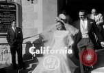 Image of Ralph Kiner and Nancy Chaffee Santa Barbara California USA, 1951, second 3 stock footage video 65675050621
