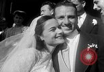 Image of Ralph Kiner and Nancy Chaffee Santa Barbara California USA, 1951, second 7 stock footage video 65675050621