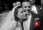 Image of Ralph Kiner and Nancy Chaffee Santa Barbara California USA, 1951, second 8 stock footage video 65675050621