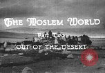 Image of caravan caught in a sand storm in desert of Saudi Arabia Saudi Arabia, 1936, second 11 stock footage video 65675050625