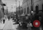 Image of street Caracas Venezuela, 1940, second 4 stock footage video 65675050635