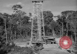 Image of oil derrick Caracas Venezuela, 1940, second 3 stock footage video 65675050651