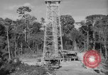 Image of oil derrick Caracas Venezuela, 1940, second 4 stock footage video 65675050651