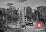 Image of oil derrick Caracas Venezuela, 1940, second 5 stock footage video 65675050651