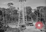 Image of oil derrick Caracas Venezuela, 1940, second 8 stock footage video 65675050651