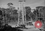 Image of oil derrick Caracas Venezuela, 1940, second 9 stock footage video 65675050651