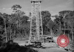 Image of oil derrick Caracas Venezuela, 1940, second 10 stock footage video 65675050651