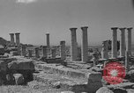 Image of ruins Libya, 1950, second 9 stock footage video 65675050653
