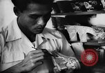 Image of small industries Bandung Indonesia, 1955, second 10 stock footage video 65675050657
