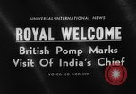 Image of Sarvepalli Radhakrishnan London England United Kingdom, 1963, second 2 stock footage video 65675050669