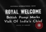 Image of Sarvepalli Radhakrishnan London England United Kingdom, 1963, second 4 stock footage video 65675050669