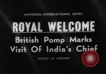 Image of Sarvepalli Radhakrishnan London England United Kingdom, 1963, second 5 stock footage video 65675050669