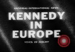 Image of President Kennedy Germany, 1963, second 4 stock footage video 65675050674