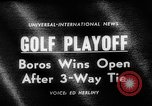 Image of United States Open Championship Massachusetts United States USA, 1963, second 5 stock footage video 65675050675