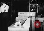 Image of calculating machine Cambridge Massachusetts USA, 1945, second 10 stock footage video 65675050700