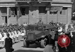 Image of funeral procession Europe, 1945, second 7 stock footage video 65675050705