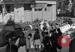 Image of funeral procession Europe, 1945, second 12 stock footage video 65675050705