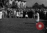 Image of golf tournament United States USA, 1945, second 9 stock footage video 65675050711