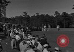 Image of Ben Hogan with military escorts at 1953 golf Masters Tournament Augusta Georgia USA, 1953, second 3 stock footage video 65675050719