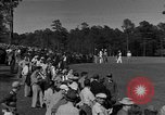 Image of Ben Hogan with military escorts at 1953 golf Masters Tournament Augusta Georgia USA, 1953, second 5 stock footage video 65675050719