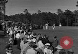 Image of Ben Hogan with military escorts at 1953 golf Masters Tournament Augusta Georgia USA, 1953, second 6 stock footage video 65675050719
