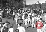 Image of Ben Hogan with military escorts at 1953 golf Masters Tournament Augusta Georgia USA, 1953, second 8 stock footage video 65675050719