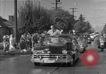 Image of President Eisenhower Portland Oregon USA, 1956, second 9 stock footage video 65675050724