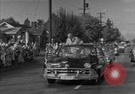 Image of President Eisenhower Portland Oregon USA, 1956, second 11 stock footage video 65675050724