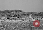 Image of 55th Brigade AAA 90 mm gun under camouflage netting Hammond Louisiana USA, 1943, second 4 stock footage video 65675050732