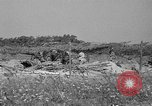 Image of 55th Brigade AAA 90 mm gun under camouflage netting Hammond Louisiana USA, 1943, second 7 stock footage video 65675050732