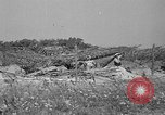 Image of 55th Brigade AAA 90 mm gun under camouflage netting Hammond Louisiana USA, 1943, second 8 stock footage video 65675050732