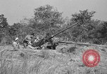 Image of Antiaircraft gunners throw off camouflage and maneuver guns Hammond Louisiana USA, 1943, second 9 stock footage video 65675050733