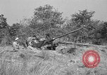 Image of Antiaircraft gunners throw off camouflage and maneuver guns Hammond Louisiana USA, 1943, second 12 stock footage video 65675050733