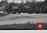 Image of U.S. Army troops practice road blocking tactics Hammond Louisiana USA, 1943, second 6 stock footage video 65675050737