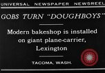Image of bakeshop Tacoma Washington USA, 1930, second 3 stock footage video 65675050770