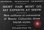 Image of Convention of Beauty Culturists Philadelphia Pennsylvania USA, 1930, second 2 stock footage video 65675050772