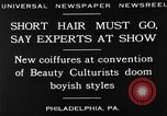 Image of Convention of Beauty Culturists Philadelphia Pennsylvania USA, 1930, second 4 stock footage video 65675050772