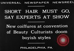 Image of Convention of Beauty Culturists Philadelphia Pennsylvania USA, 1930, second 8 stock footage video 65675050772