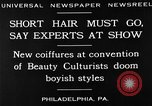 Image of Convention of Beauty Culturists Philadelphia Pennsylvania USA, 1930, second 11 stock footage video 65675050772