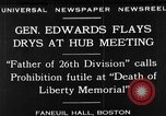 Image of Boston rally against alcohol prohibition Boston Massachusetts USA, 1930, second 1 stock footage video 65675050773